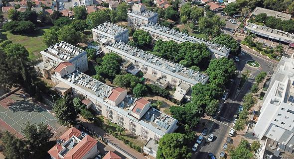 פינוי-בינוי רחוב גאולה רעננה