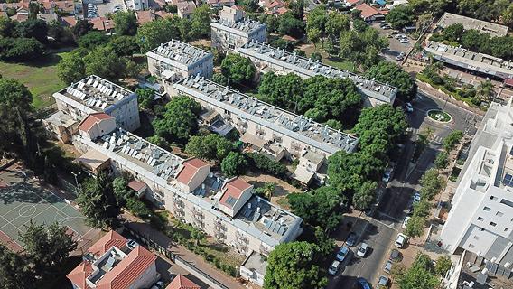 פרויקט התחדשות עירונית ברעננה התכווץ ורסקו החליטה לא לבצעו