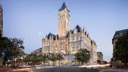 """עוזב את די סי: נשיא ארה""""ב לשעבר קרוב למכירת מלון """"טראמפ אינטרנשיונל"""" בוושינגטון"""