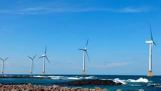 טורבינות רוח ימיות חשמל ירוק