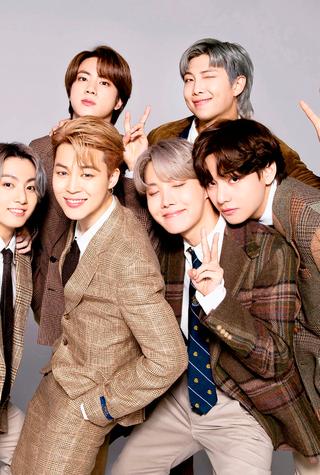 פנאי להקת בנים קוריאנית BTS