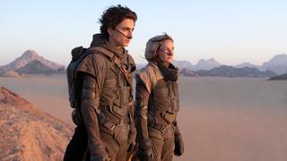 מוסף שבועי 21.10.21 השחקנים רבקה פרגוסון ו טימותי שאלאמה בסרט חולית פנאי, צילום: AP