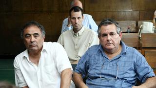 מימין עמי גיא ו יעקב גינצבורג בעלי מניות בסלטי שמיר, צילום: עמית שעל