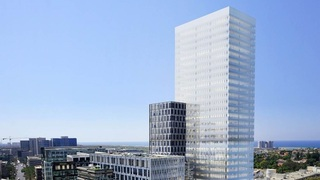 הדמיית מגדל אפל הרצליה פיתוח, צילום הדמיה: ישר אדריכלים