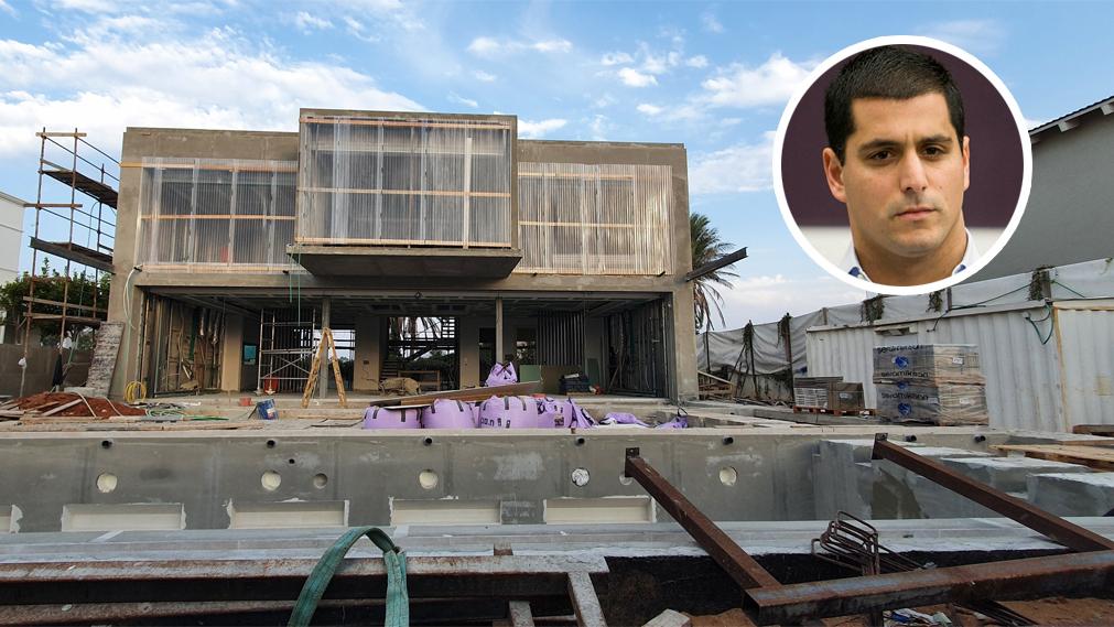 הווילה שמקים רועי חיון ברחוב גלי תכלת בהרצליה פיתוח, אוראל כהן