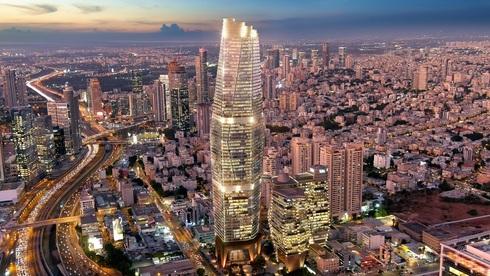 """להגיע לעבודה בקורקינט: זה מגדל Toha-2 שיוקם בת""""א, עם 77 קומות ומעט חניות - צפו בהדמיה"""