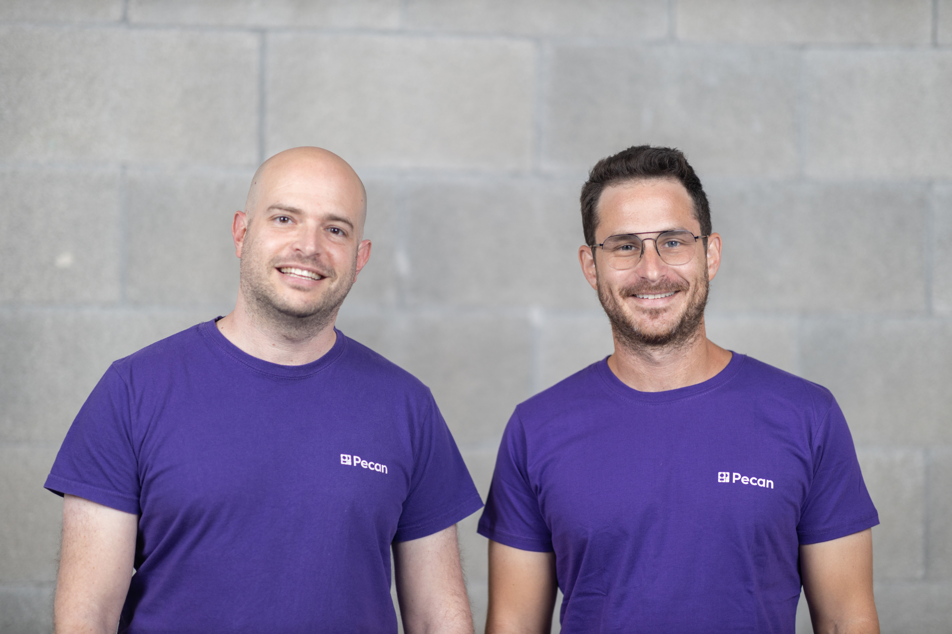 Pecan AI co-founders Noam Brezis (left) and Zohar Bronfman. Photo: Avishai Lippner