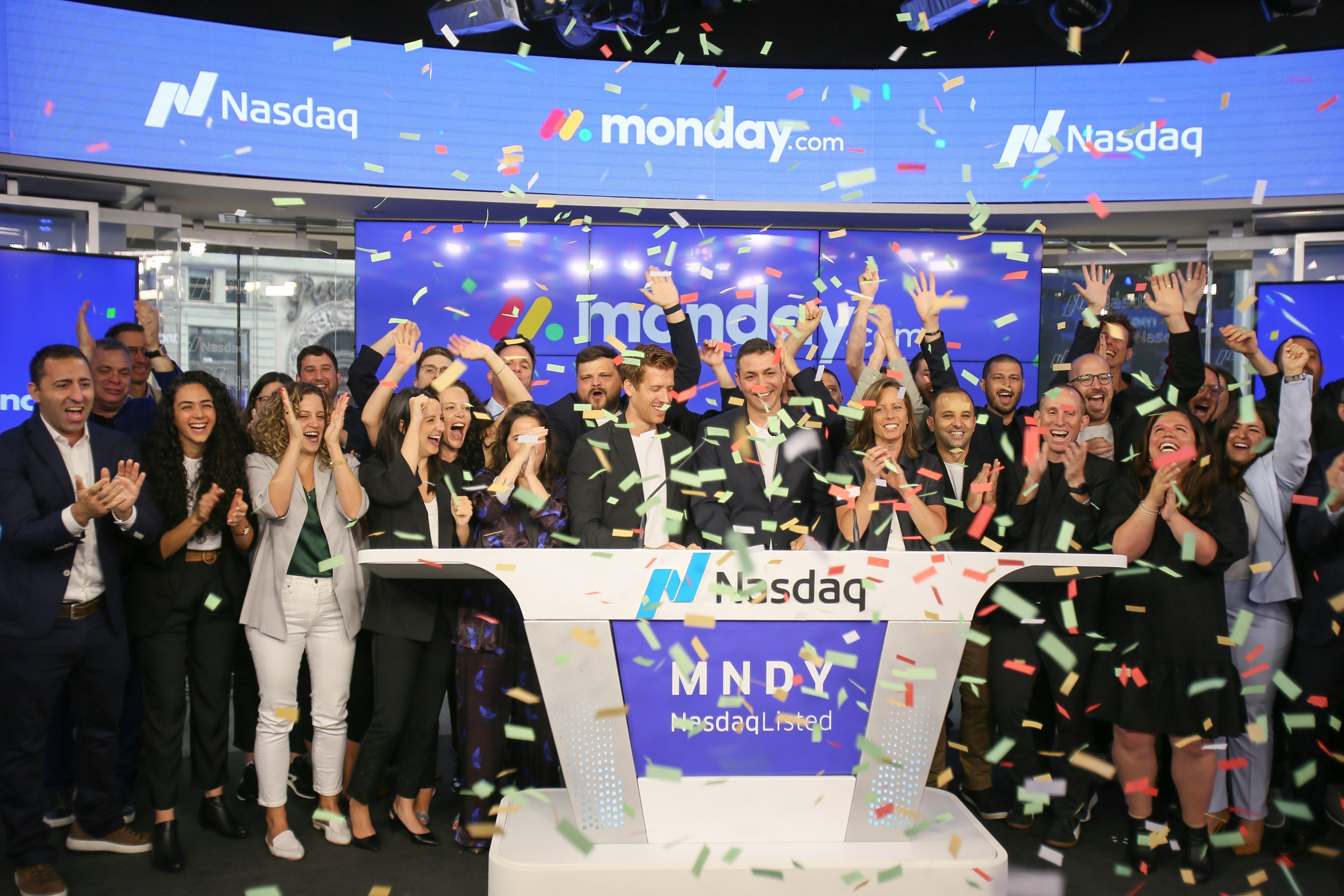 monday.com goes public on Nasdaq. Photo: Courtesy