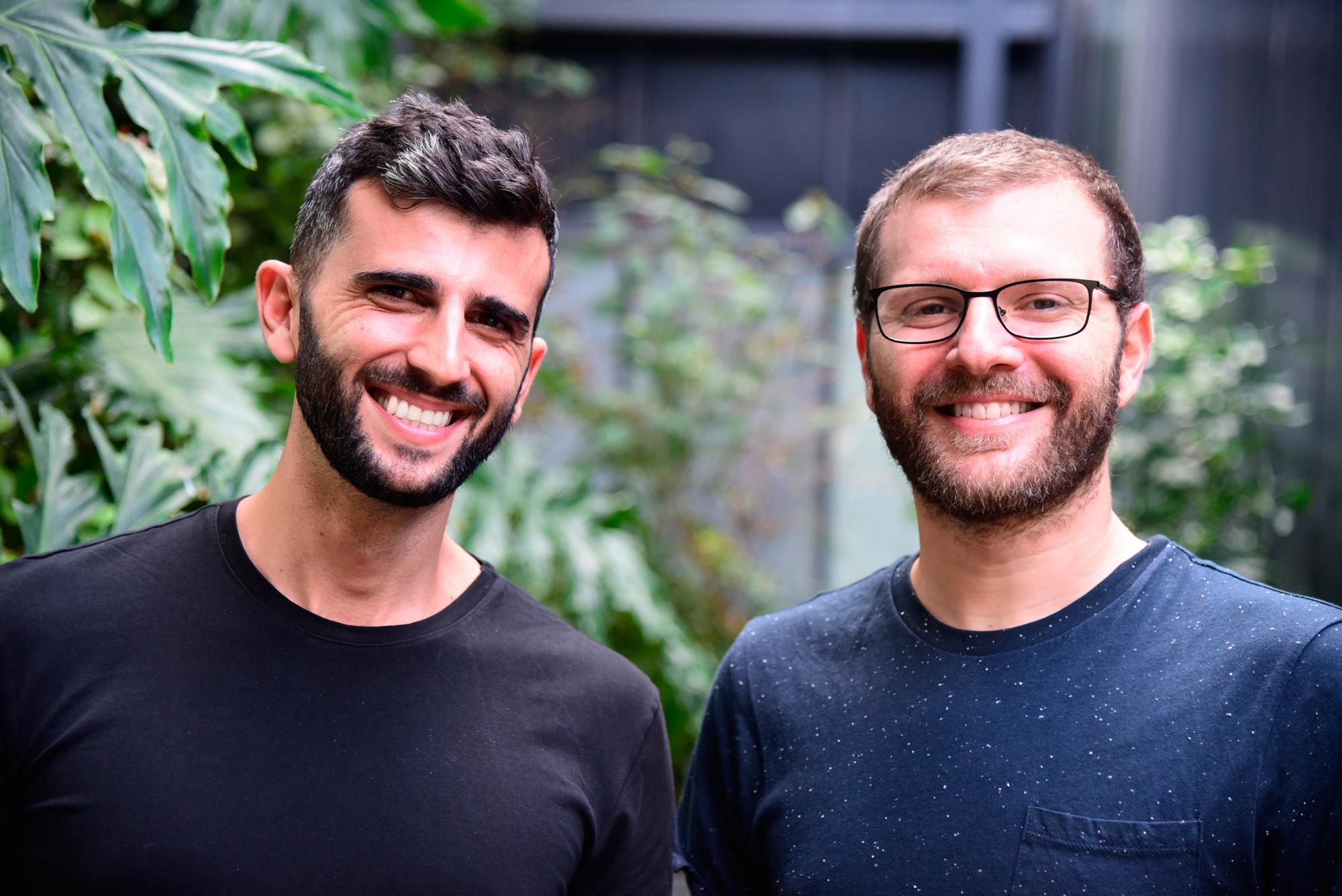 Balance co-founder Yoni Shuster (left) and Bar Geron